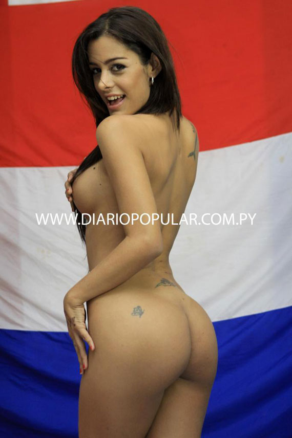 el diablo s celebrity news larissa riquelme stripping for her soccer