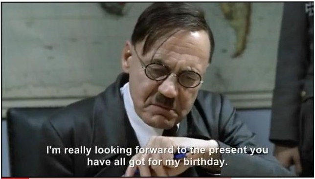 It's April 20th.  Let's celebrate the birth of a great man. Hitler%27s+birthday+Rant