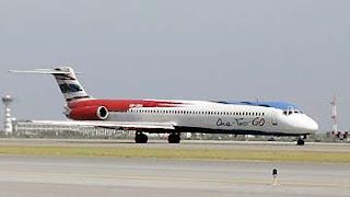 Pesawat One Two Go Orient Thai Airways