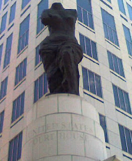 Cleveland's Federal Court House Statue