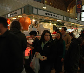 Shopping at the West Side Market