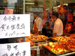 Chinese Deli in San Francisco's China Town