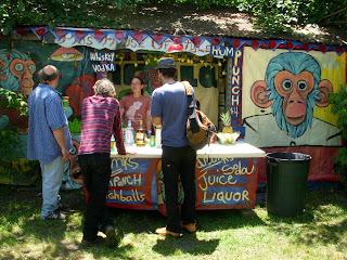 Hard Liquor Stand at ChazFest