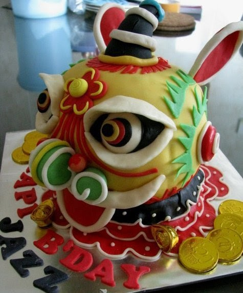 Chinese Dragon Cake How To Make