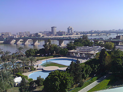 baghdad before 2003 war or Iraq