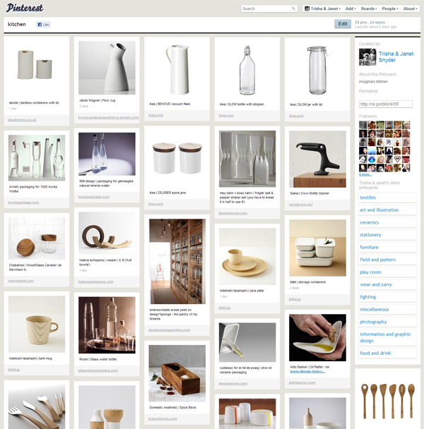 Pinterest - pawlingprint kitchen