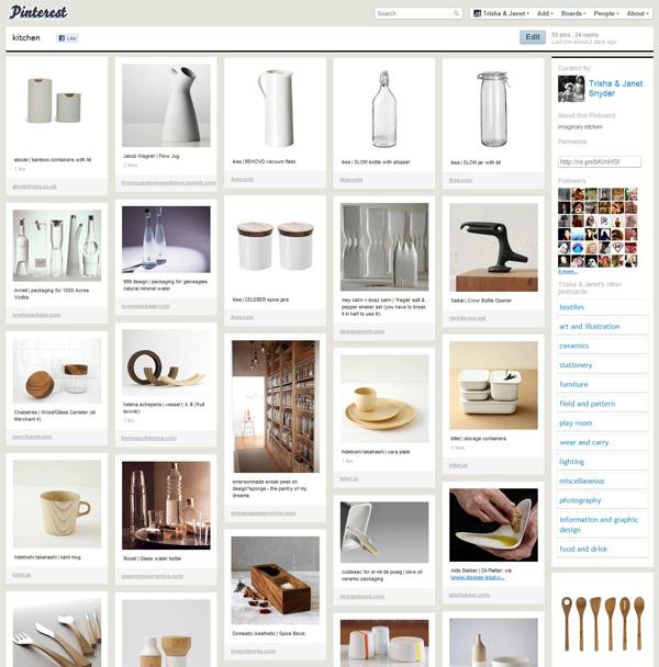 Pinterest - pawlingprint kitchen
