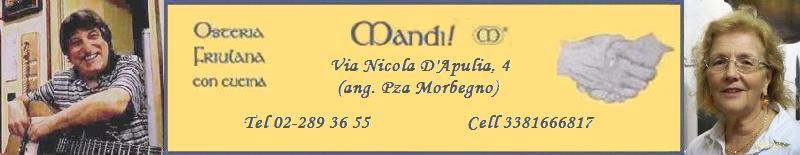 Mandi! Osteria Friulana - Milano