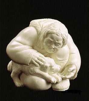யானைத் தந்தத்தினால் செய்யப்பட்ட சிற்பங்கள். Ivory-Art+%285%29
