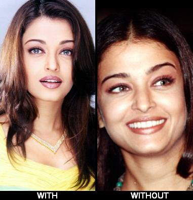 girls without makeup. without makeup in some of