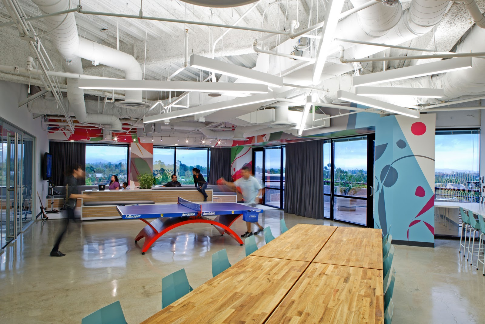 Cool employee break rooms joy studio design gallery for Cool office rooms