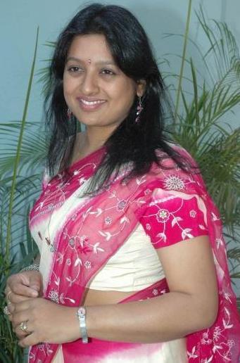 Gemini TV Anchor Sana in Saree | Blog with no Limits