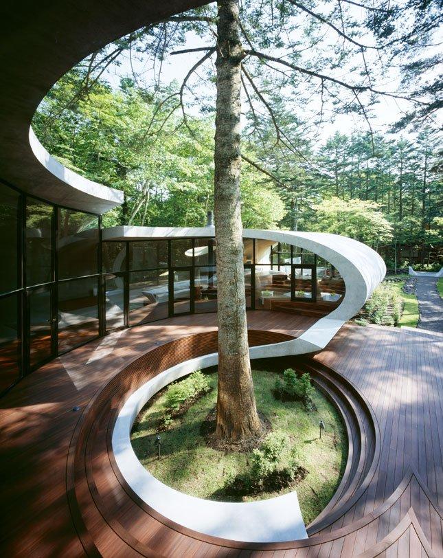 Rumah dengan Gaya Arsitek Unik dari Jepang