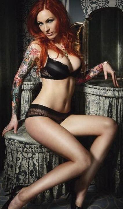 Flower Skull Tattoo Pics Designs On sleeve Girls