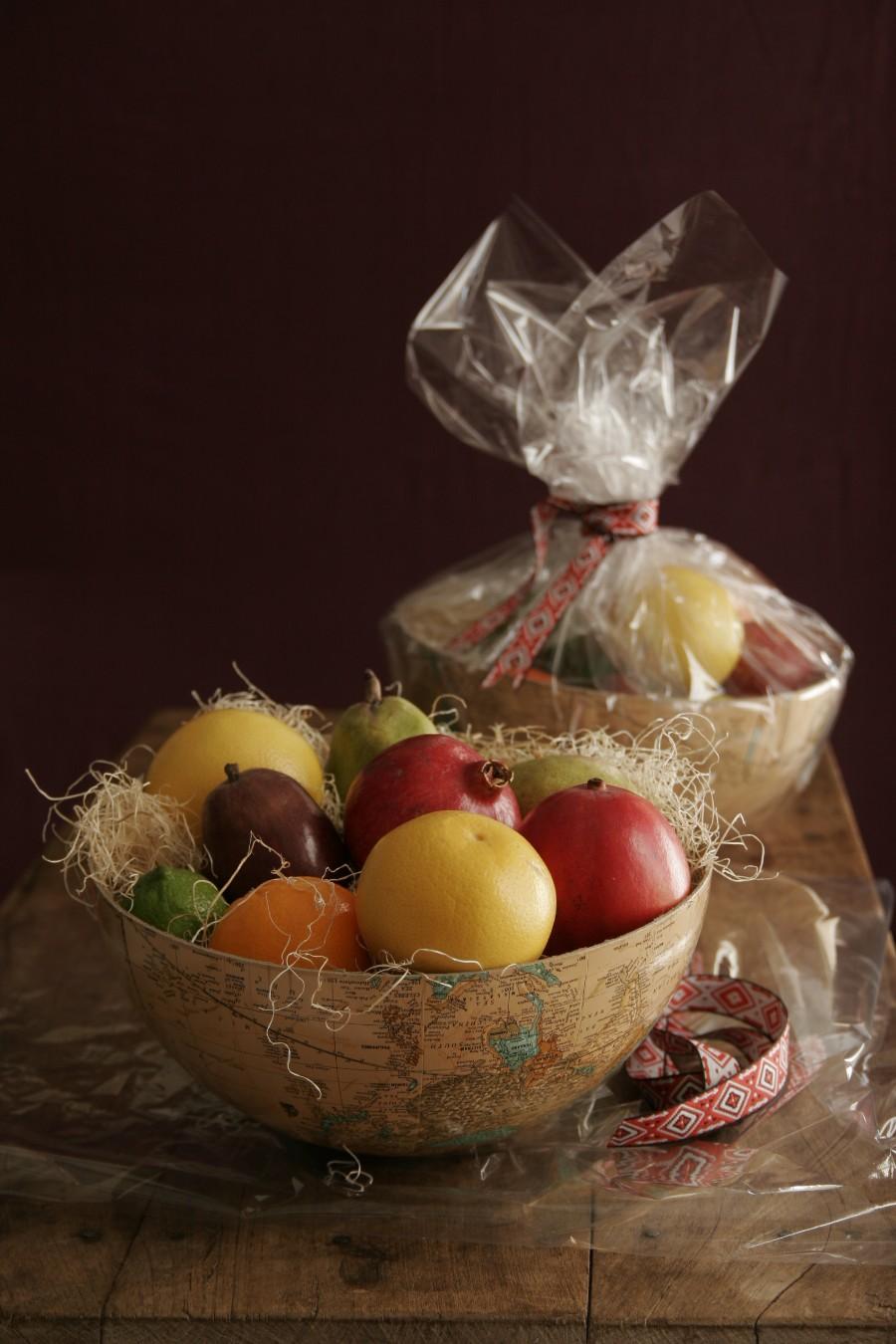 interesting ideas fruit bowl.  Unique Gift Wrap Ideas