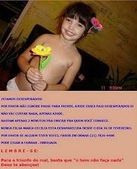 Maria Cecilia desaparecida Desde o dia 26 de fevereiro, para mais informacões clique na foto