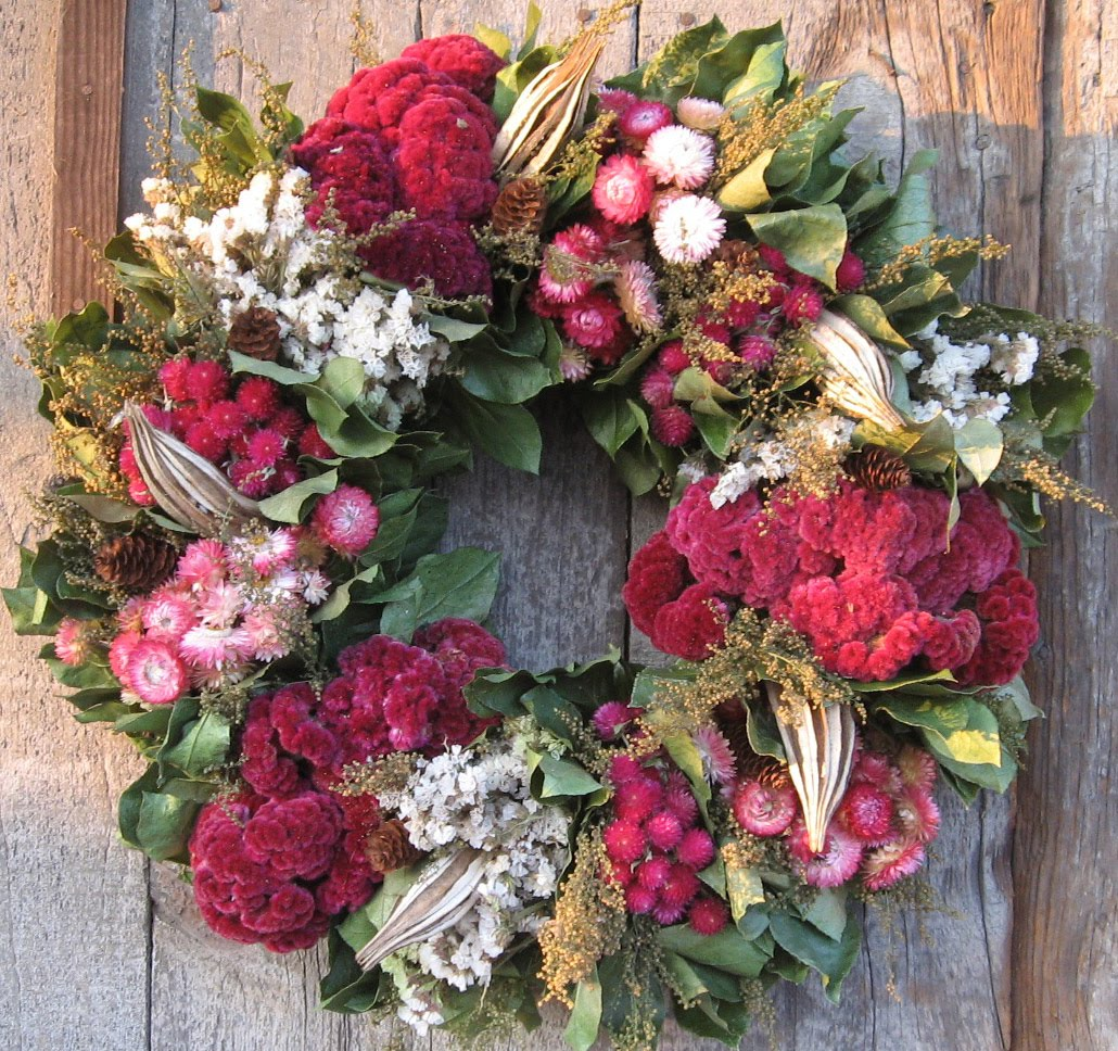 Fabulously French Workshops Christmas Wreath Making Class