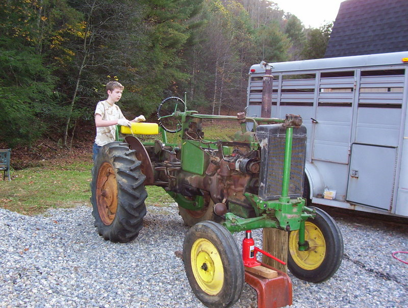 The Inky Spinnery: The John Deere M