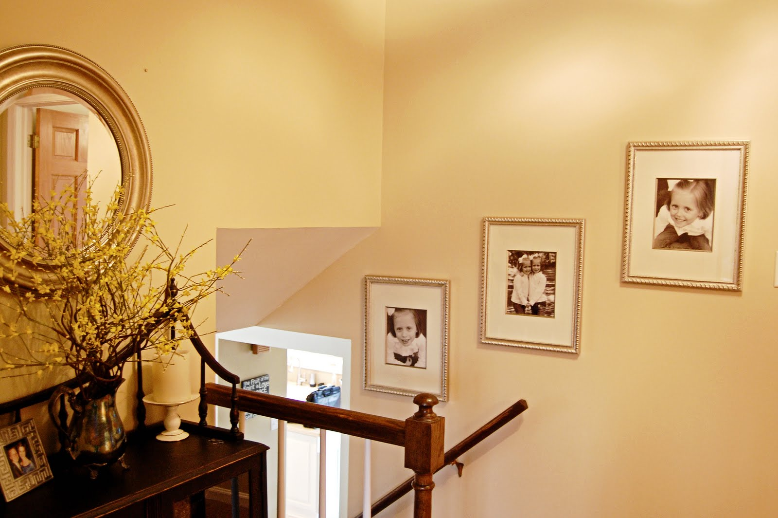The Blessed Nest: Mini Makeover on My Upstairs Landing
