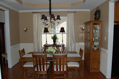 The Blessed Nest: Mini Dining Room Makeover