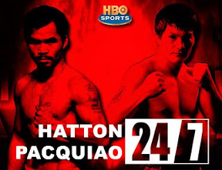 watch Pacquiao Hatton 24/7 episodes