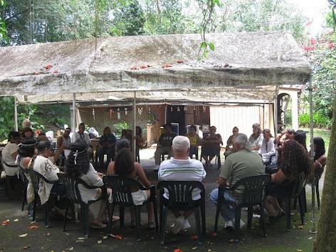 Logrando  La  Pax  Taina - Reunion de  Grupos  Tainos