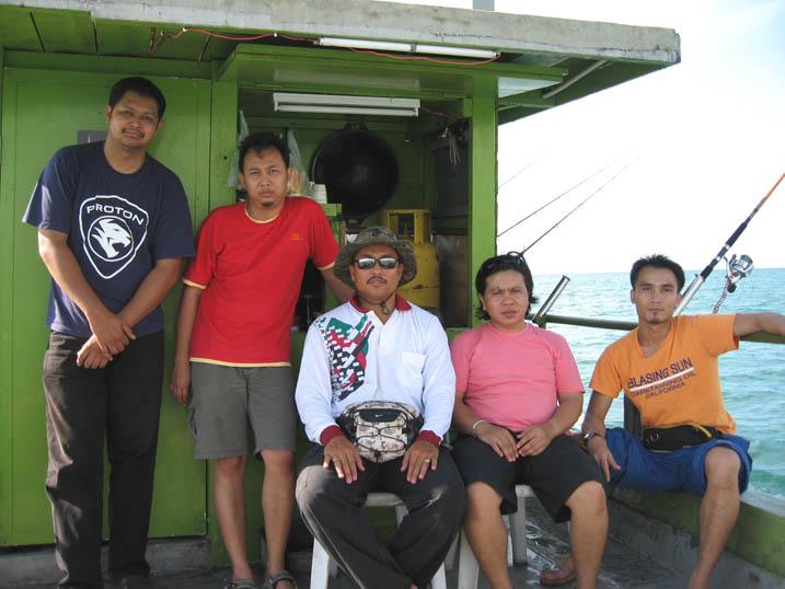 Trip memancing ke Batu Susu II (23.06.2007)