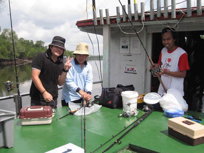 Expedisi Memancing ke Lubuk 08 (02.08.2008)
