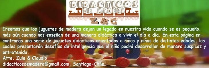 Didácticos de Madera Z & C