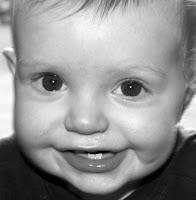 Baby Alexander Smiling