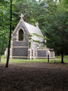 The mausoleum of the Bliss family