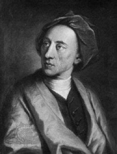 Alexander Pope was described as a hunchback and a cripple