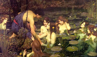 Hylas meets some nymphs (Waterhouse)