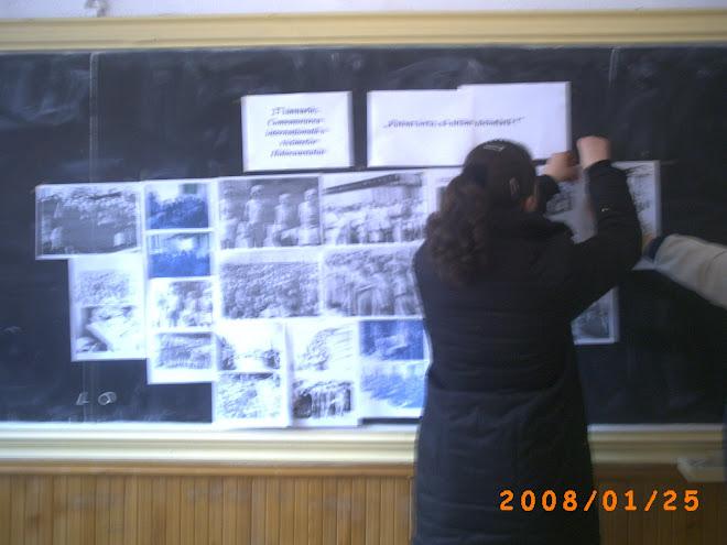 Expoziţie de imagini pe tema Holocaustului