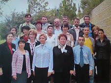Fotografie de grup cu participanţii la seminarul de formare pe tema Holocaustului, Yad Vashem
