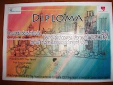 Diploma primită de Denisa Socea, clasa a IX-a C