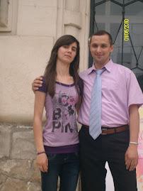 Împreună cu eleva Nicoleta Genilă, clasa a X-a C, la Muzeul de Istorie şi Arheologie...