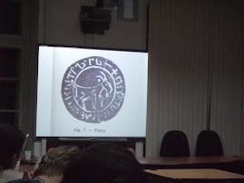 Sigiliul Târgului Piatra: capra de munte - prezentat de prof. univ. dr. Ştefan S. Gorovei