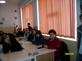 24 ianuarie la Grupul Şcolar Roznov
