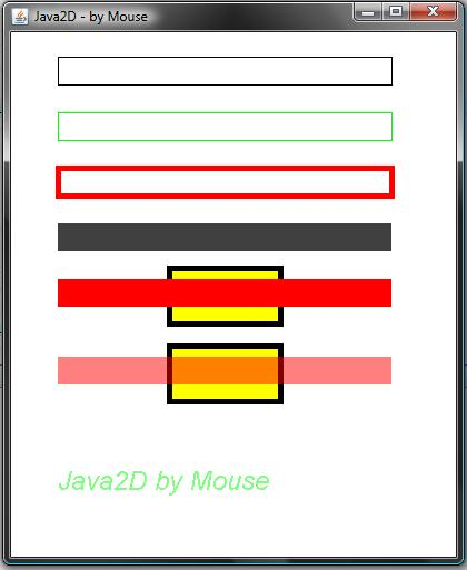mouse Introduccin a Java2D