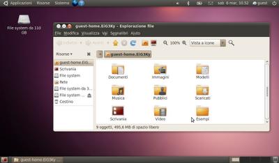 nuovo tema ubuntu ambiance