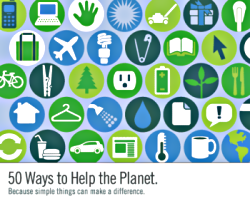 50 modi per aiutare il pianeta