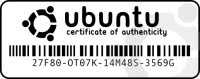 certificato garanzia ubuntu