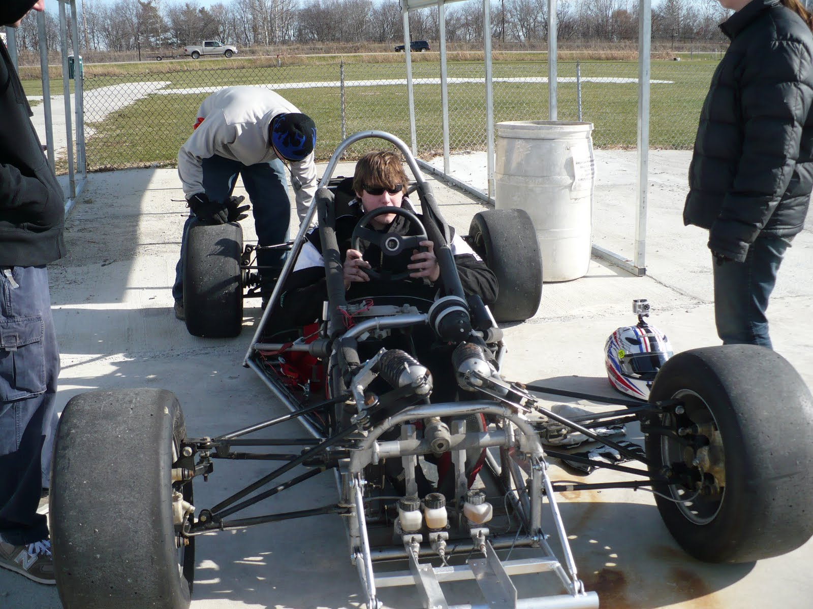 I Have Always Had The Dream And Still Do Of Designing Building An A Mod Racecar This Car Was Supposed To Be Test Bed For My Design