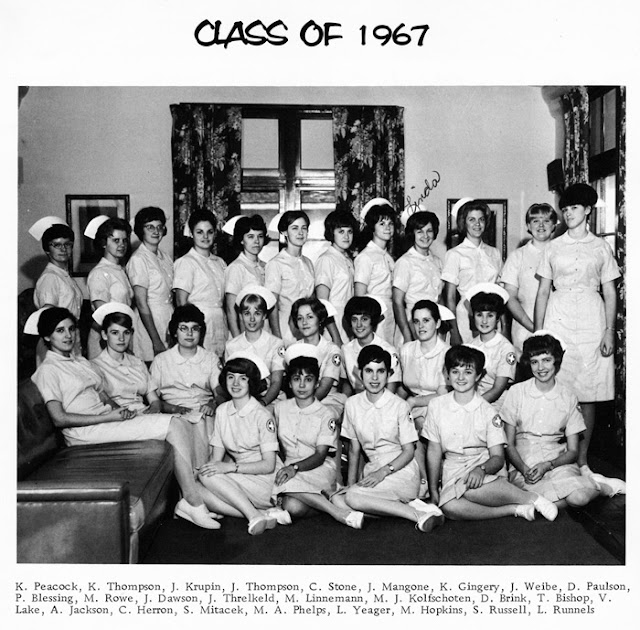 Knapp College Of Nursing Class Of 1967 History