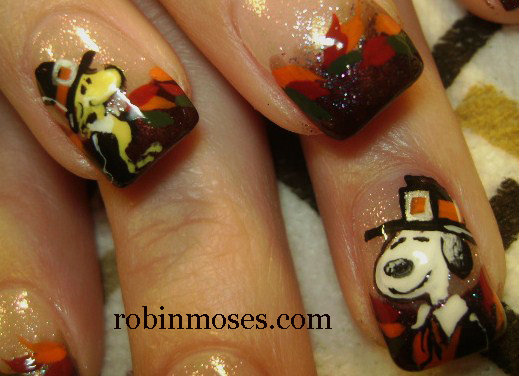 "cute fall nail art"" ""fall nail art"" ""fall thanksgiving autumn nail art"