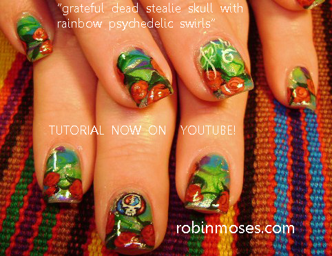 Robin moses nail art the grateful dead nail art scooby doo an error occurred prinsesfo Image collections