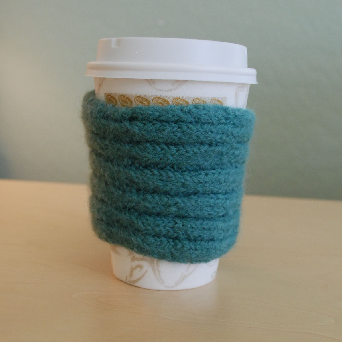 Orchid Lane Designs: Free Knitting Pattern - Coffee Cup Cozy