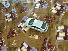 2010 Prius Toy on Break Table