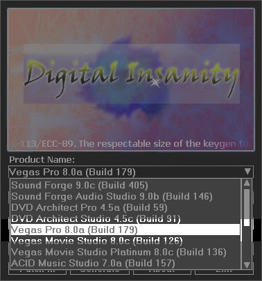Sony vegas pro 8.0a with crack and fully working keygen.